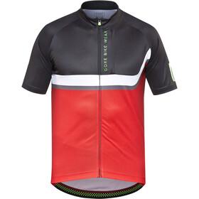 GORE BIKE WEAR Power Trail Fietsshirt korte mouwen Heren rood/zwart